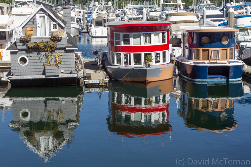Vancouver Harbour House Boats