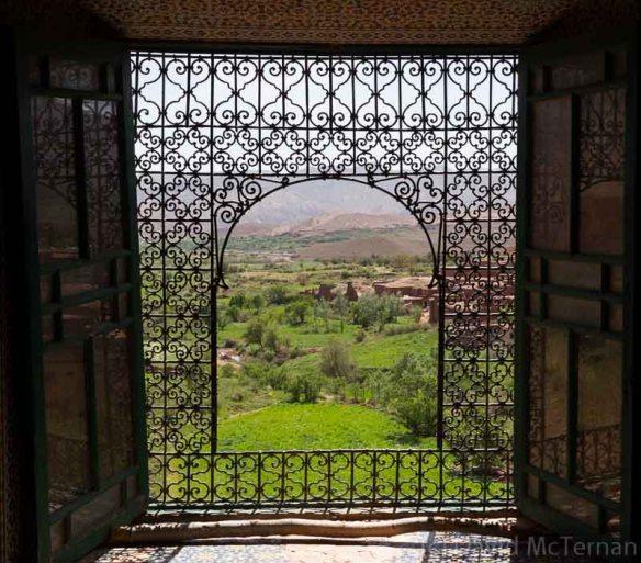 Glaoui Kasbah famous window
