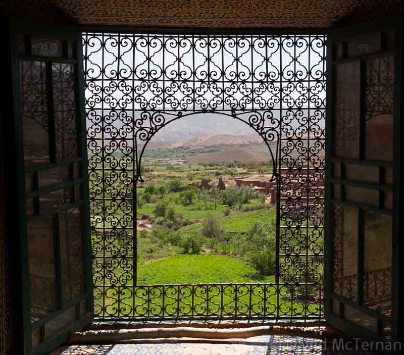 Glaoui Kasbah famous window