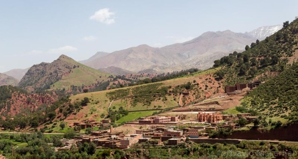 Village in the Draa Valley