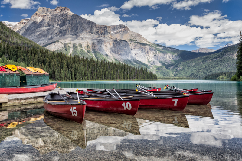 Emerald Lake Boats